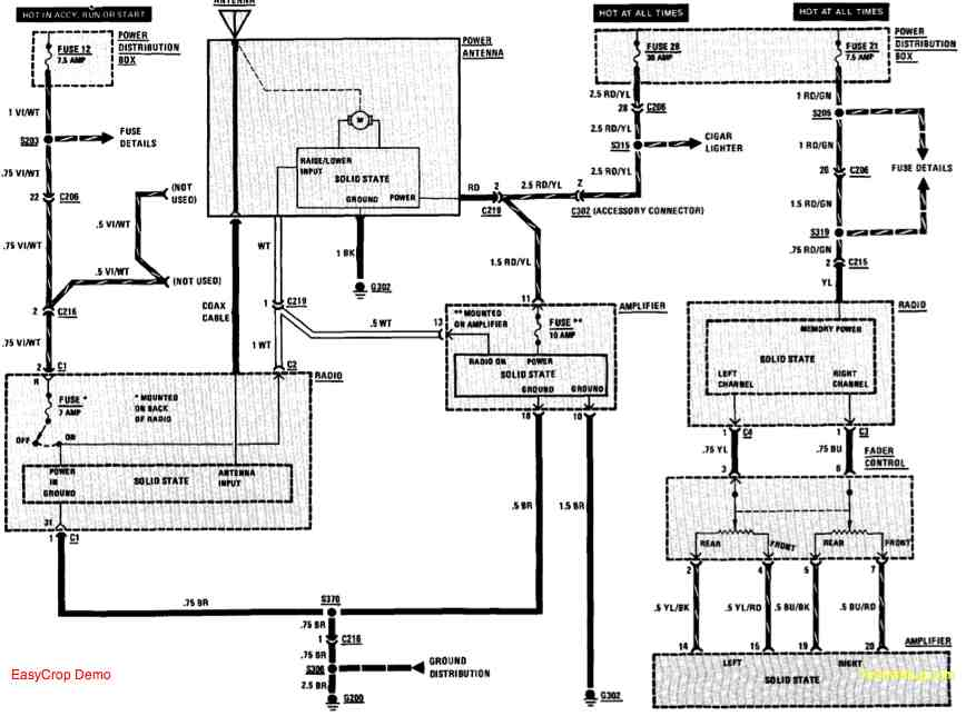 2000 Bmw Z3 Speaker Wiring - Wiring Diagram •