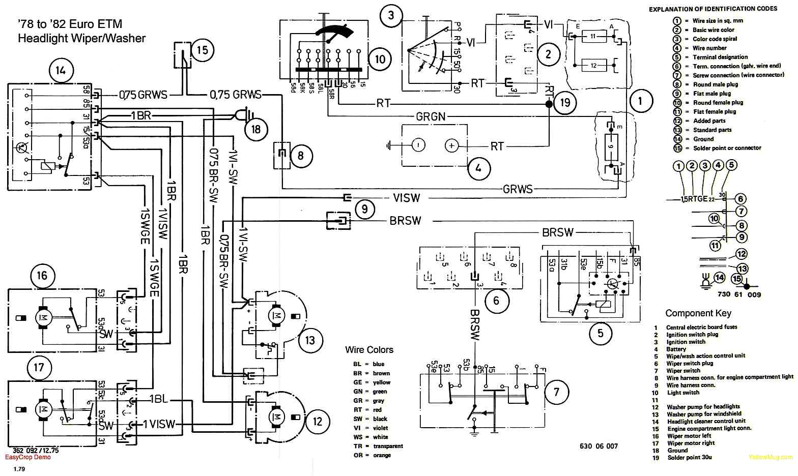 Headlight Cleaners Composit on 2001 Bmw 325i Fuse Box Diagram